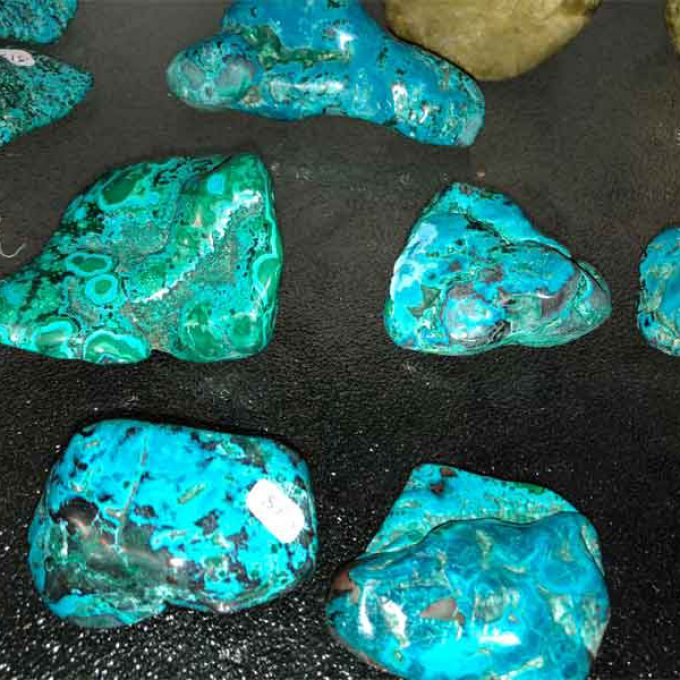Hand Polished Chrysocolla
